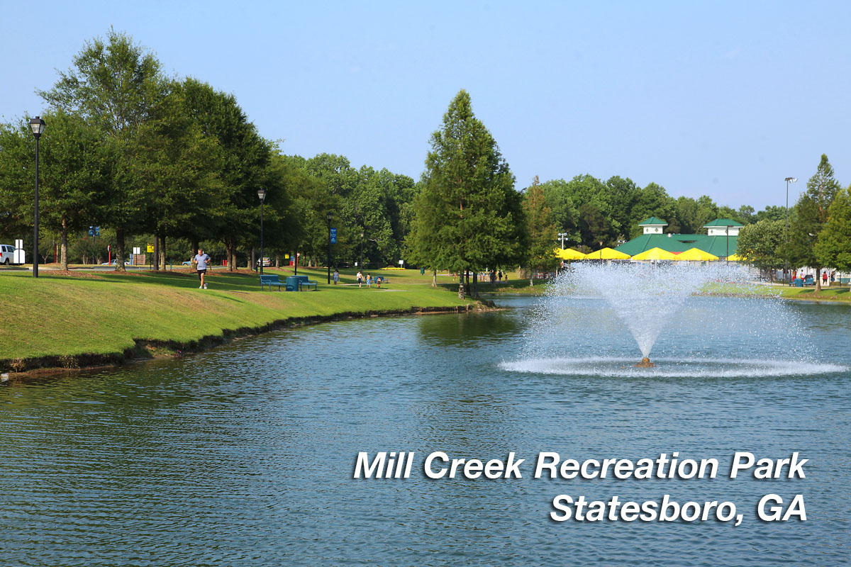 Mill Creek Recreation Park, Statesboro, GA