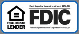 FDIC Equal Housing Lender